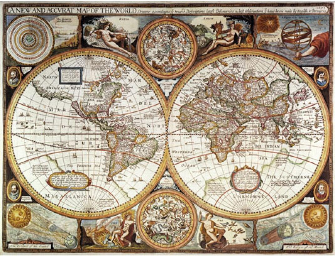 Nástěnná mapa ANTICKÝ SVĚT