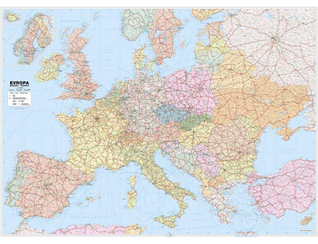 Hlavní města států Evropy