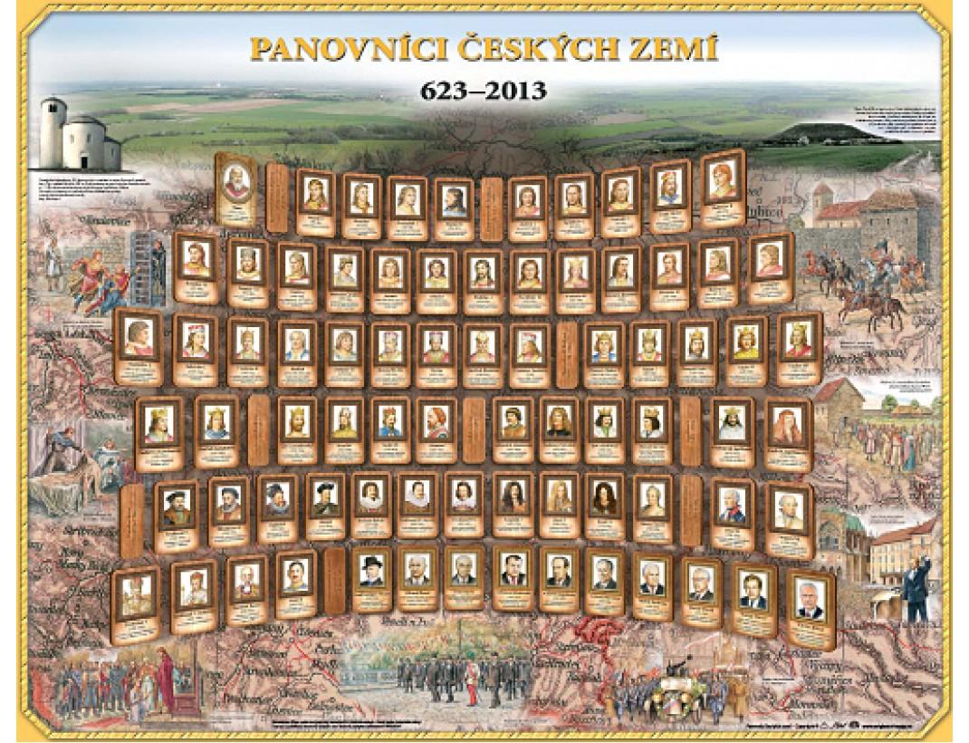 Panovníci Českých zemí 623 - 2013