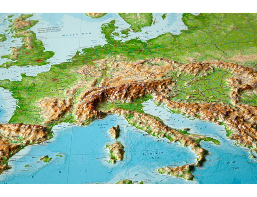 Plasticka Mapa Evropa