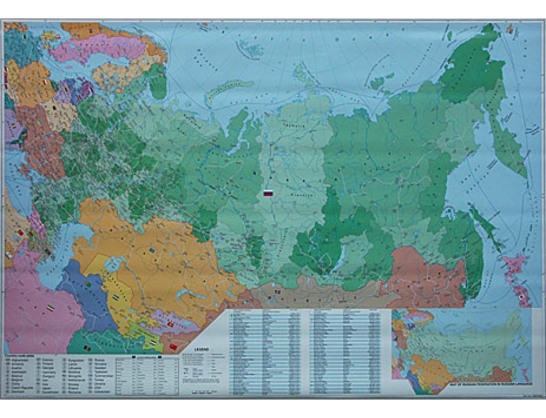 Nástěnná mapa Evropa spediční střední